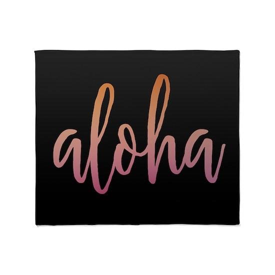 Aloha Pink and Black