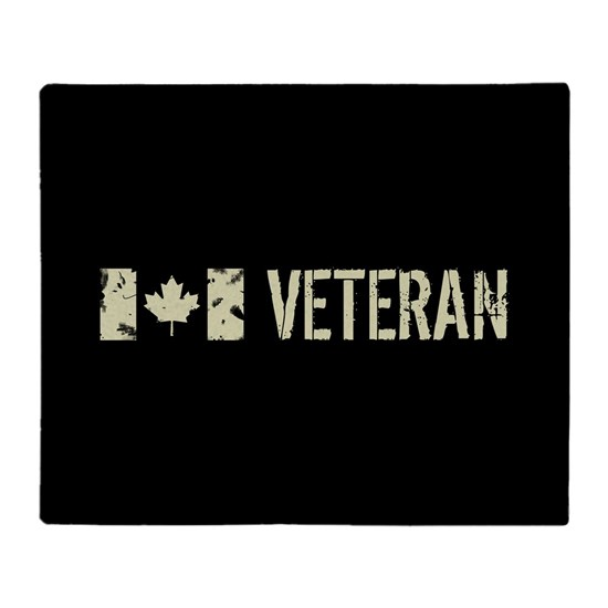 Canadian Flag: Veteran