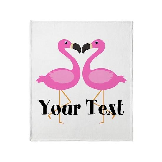 Personalizable Pink Flamingos