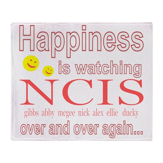 Happiness is watching NCIS