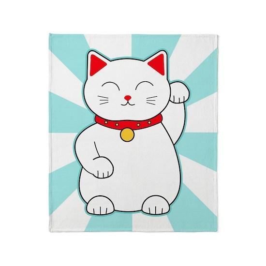 White Lucky Cat