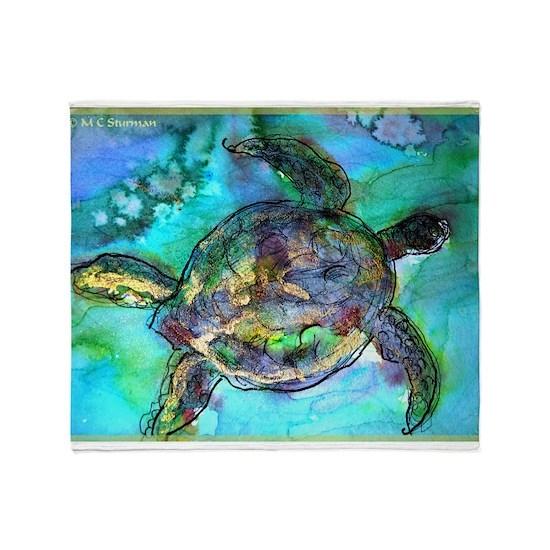 Sea Turtle, Wildlife art!