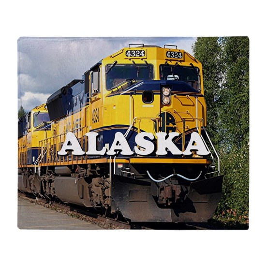 Alaska Railroad engine locomotive 2