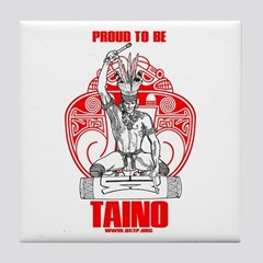 Proud To Be Taino 2 Framed Tile By Taino Shop Cafepress