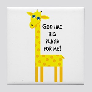 Cute Christian Tile Coaster