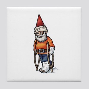 Good Recovery Gnome Tile Coaster