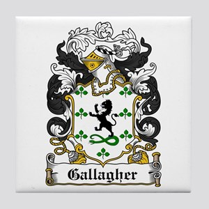 Gallagher Coat of Arms Tile Coaster