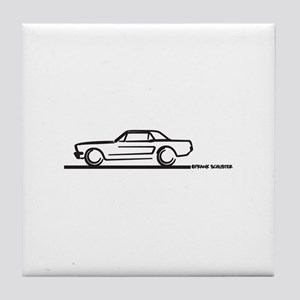 Mustang 64 to 66 Hardtop Tile Coaster