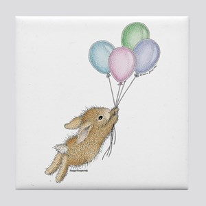 HappyHoppers® - Bunny - Tile Coaster