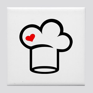 Chef hat cook Tile Coaster
