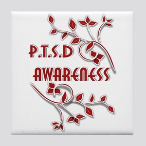P.T.S.D. AWARENESS Tile Coaster