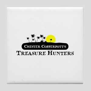 chester copperpot treasure hunters Tile Coaster