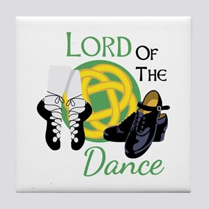 LORD OF THE Dance Tile Coaster