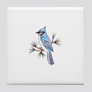 BLUEJAY Tile Coaster