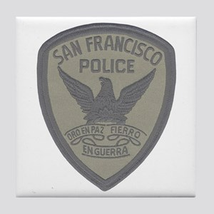 SFPD SWAT Tile Coaster