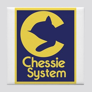 Chessie System Tile Coaster