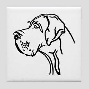 Daneportrait Tile Coaster