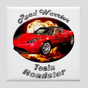 Tesla Roadster Tile Coaster