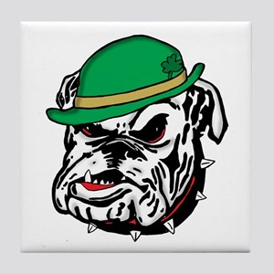 Irish Bulldog Tile Coaster