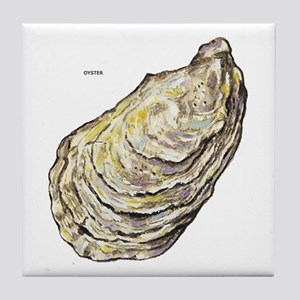 Oyster Sea Life Tile Coaster
