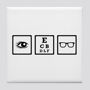 Optician Tile Coaster