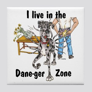 NMrl ILIT Dane-ger Zone Tile Coaster