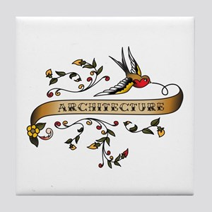 Architecture Scroll Tile Coaster