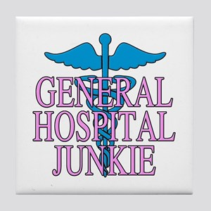 General Hospital Junkie Tile Coaster