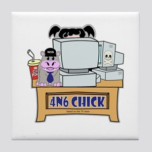 4N6 CHICK Abby NCIS Tile Coaster