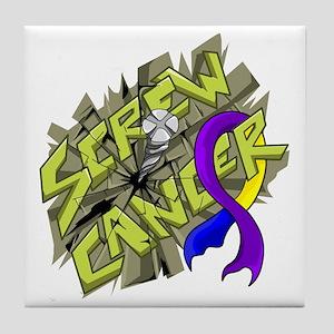 Bladder Cancer Ribbon Tattoo Coasters Cafepress