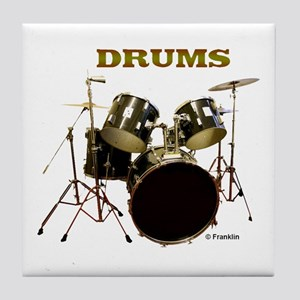 DRUMS Tile Coaster