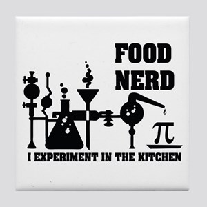 Food Nerd Tile Coaster