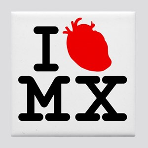 CLASIC!! ''I HEART MEXICO TEE... Tile Coaster