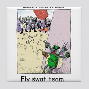 Fly S.W.A.T Team Tile Coaster