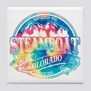 Steamboat Old Circle 3 Tile Coaster