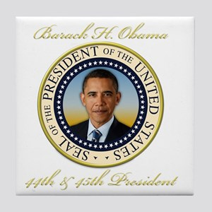 Keepsake President Obama Re-Election Tile Coaster