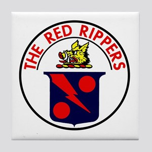 VF 11 VFA 11 Red Rippers Tile Coaster