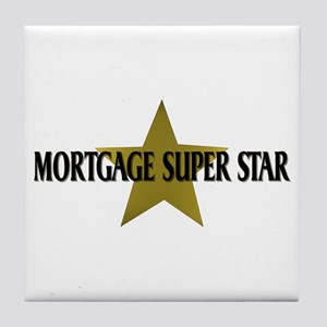 Mortgage SuperStar Tile Coaster