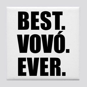 Best Vovo Ever (Grandma) Drinkware Tile Coaster