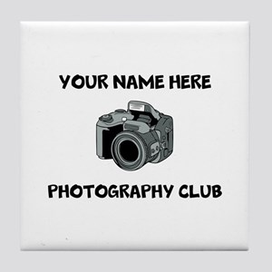 Photography Club Tile Coaster