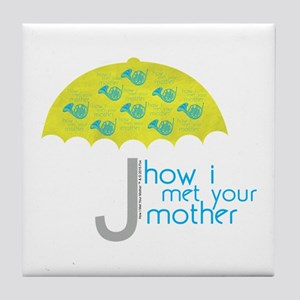 How I Met Your Mother Tile Coaster