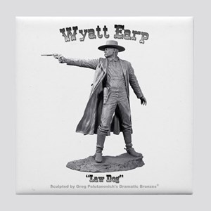Wyatt Earp Tile Coaster