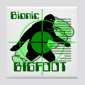 Bionic Bigfoot Tile Coaster