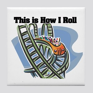How I Roll (Roller Coaster) Tile Coaster