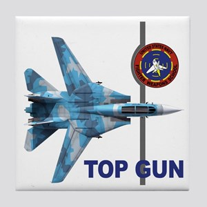 United States Navy Fighter We Tile Coaster