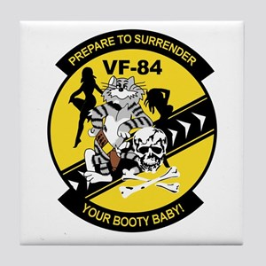 VF-84 Jolly Rogers Tile Coaster
