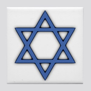 Star of David Tile Coaster