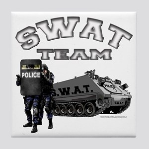 S.W.A.T. Team Tile Coaster