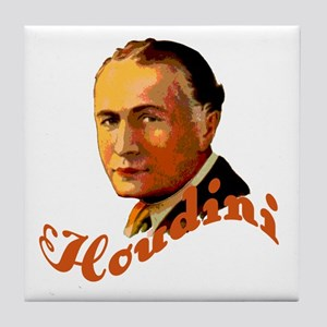 Harry Houdini Portrait Tile Coaster