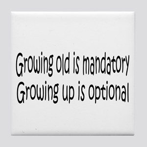 Growing Up... Tile Coaster